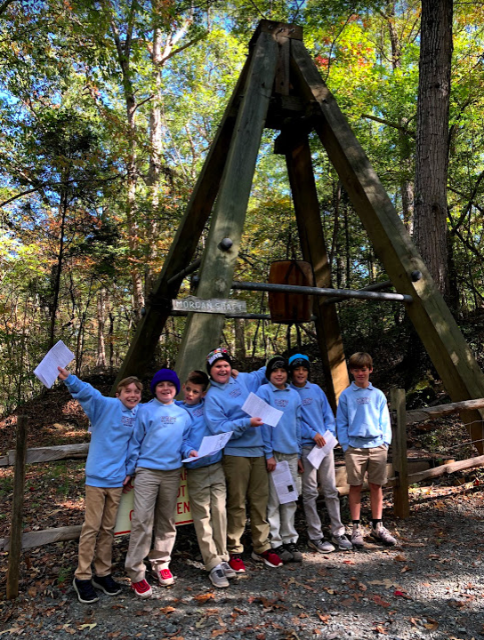Lower School at Reed Gold Mine